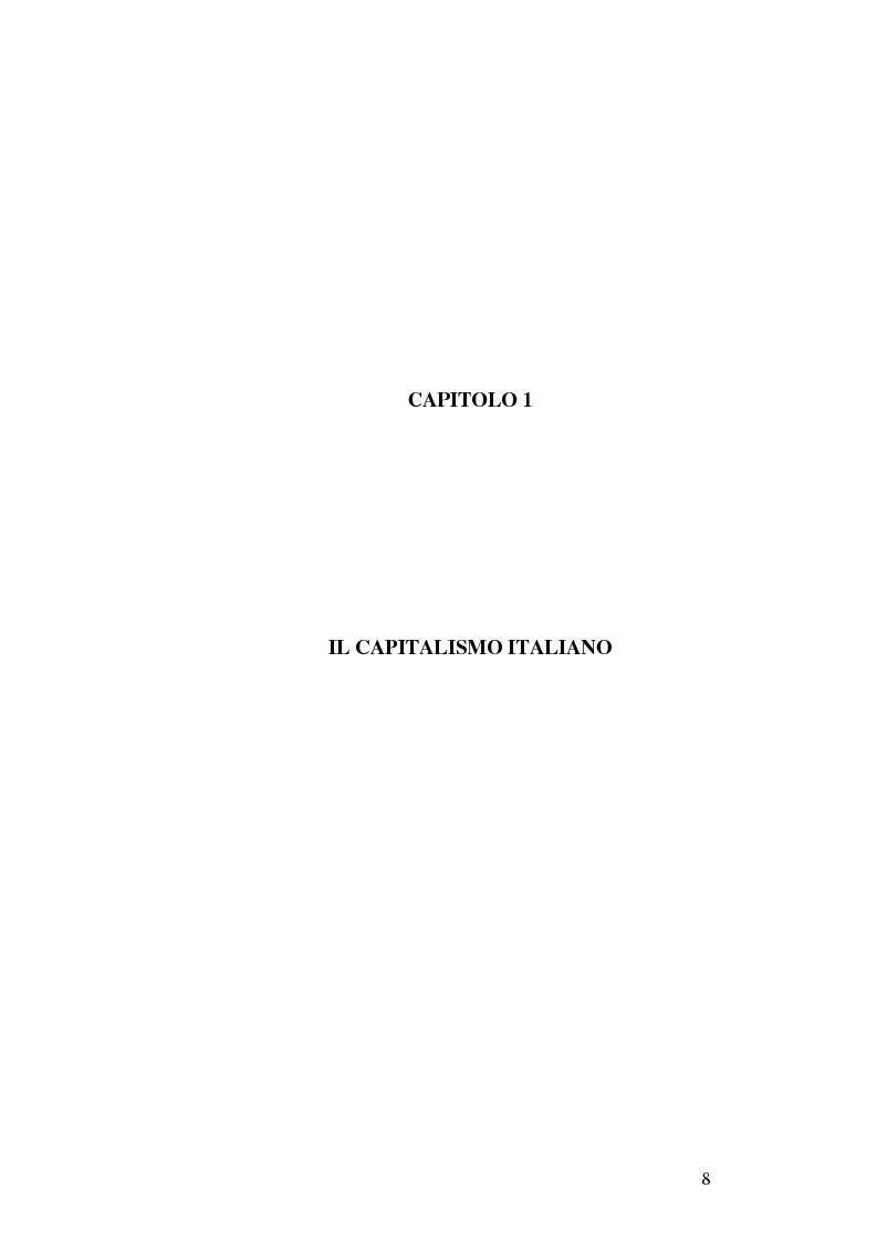 Anteprima della tesi: Il capitalismo italiano negli anni Novanta, Pagina 8