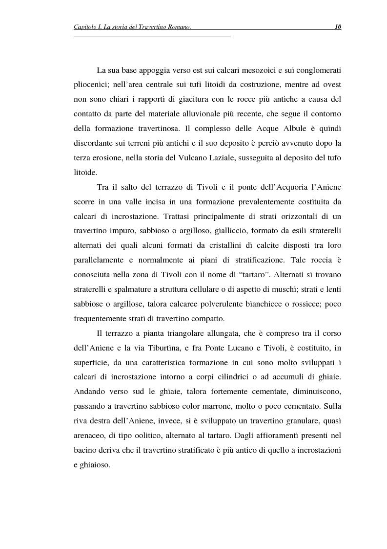 Anteprima della tesi: La certificazione di qualità del travertino romano, Pagina 13