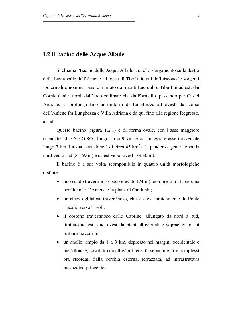 Anteprima della tesi: La certificazione di qualità del travertino romano, Pagina 9