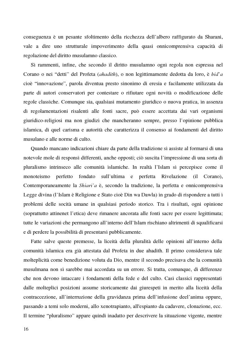 Anteprima della tesi: Bioetica e clonazione fra Islam e Cristianesimo, Pagina 10
