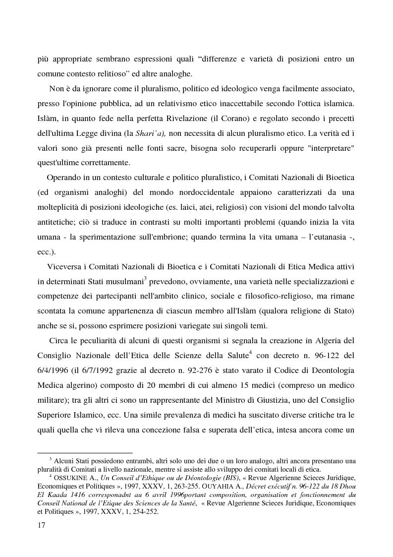 Anteprima della tesi: Bioetica e clonazione fra Islam e Cristianesimo, Pagina 11