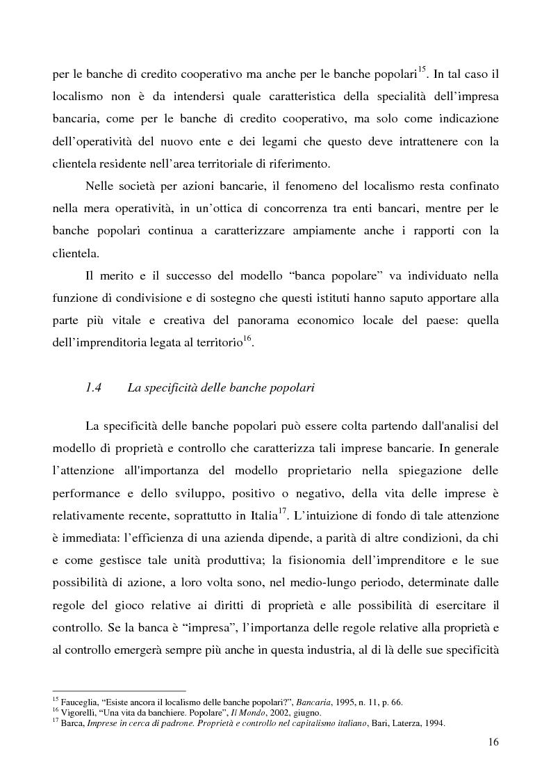 Anteprima della tesi: Problemi e prospettive della disciplina delle banche popolari, Pagina 13