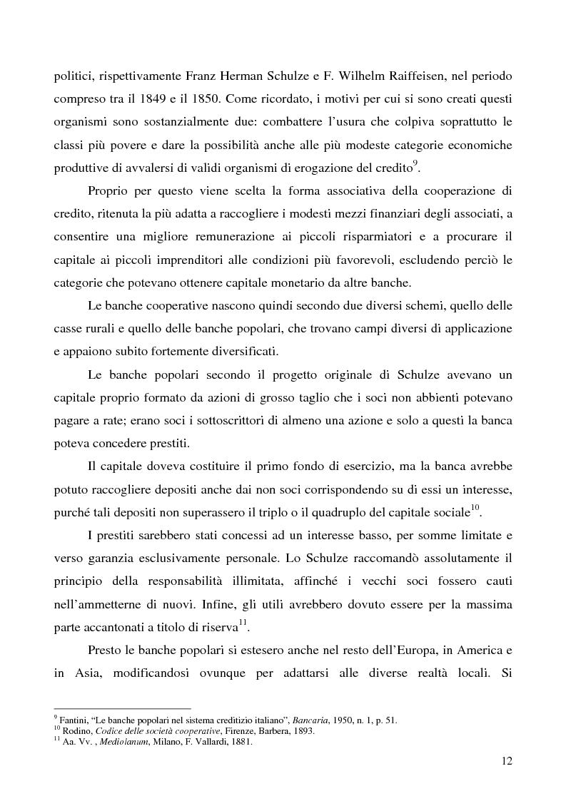 Anteprima della tesi: Problemi e prospettive della disciplina delle banche popolari, Pagina 9