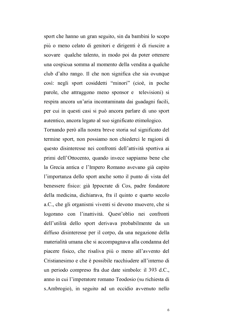 Anteprima della tesi: Per un ritorno a una nuova autonomia dell'ordinamento sportivo, Pagina 3
