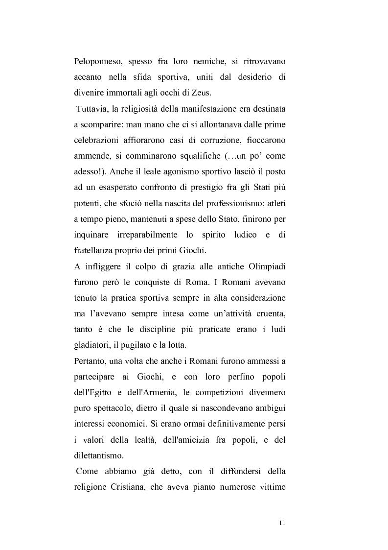 Anteprima della tesi: Per un ritorno a una nuova autonomia dell'ordinamento sportivo, Pagina 8