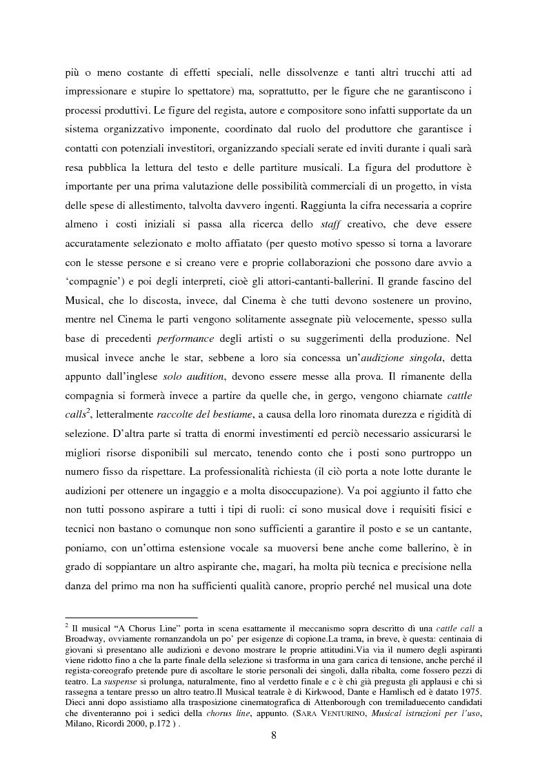 Anteprima della tesi: Forme e strutture del musical: il caso anglo-americano e quello italiano, Pagina 4
