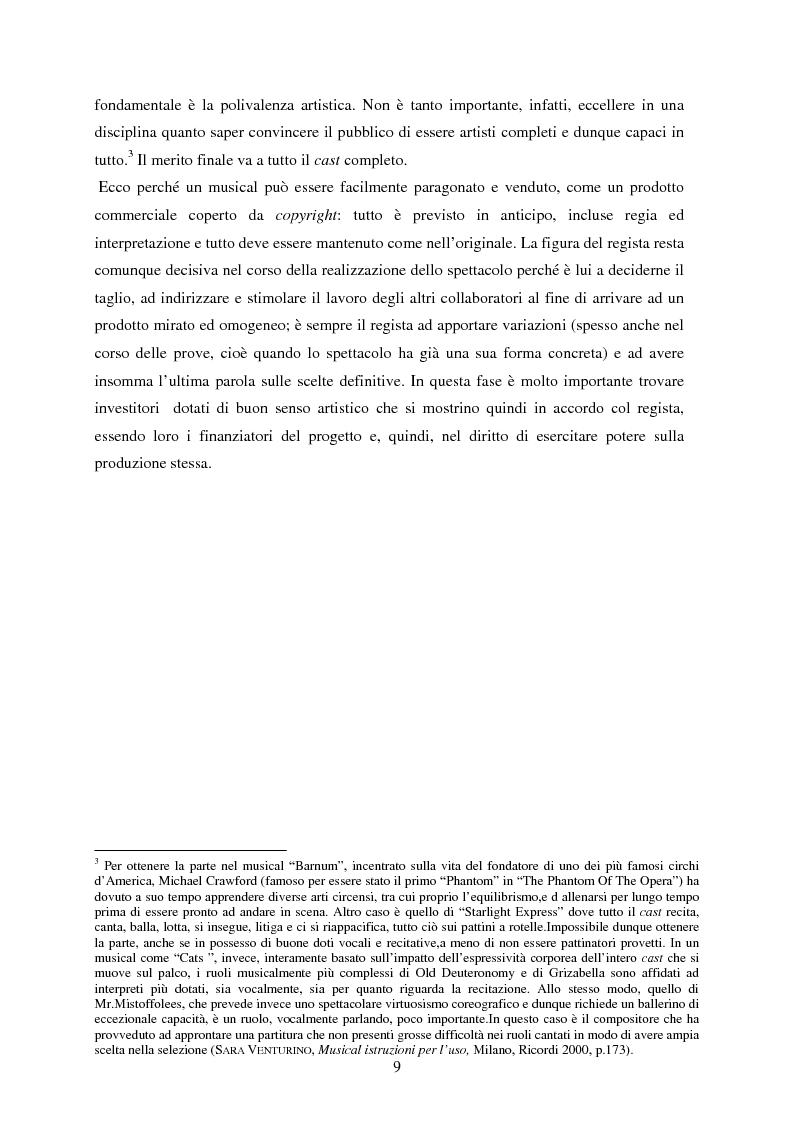 Anteprima della tesi: Forme e strutture del musical: il caso anglo-americano e quello italiano, Pagina 5