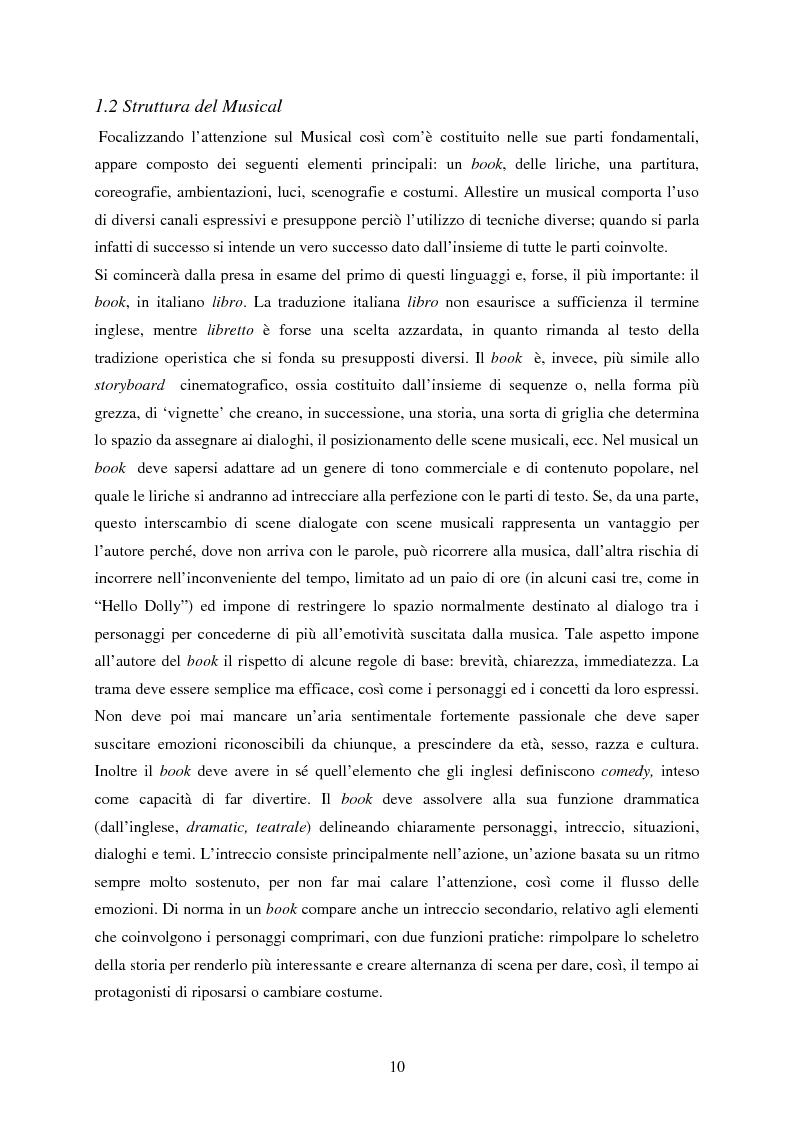 Anteprima della tesi: Forme e strutture del musical: il caso anglo-americano e quello italiano, Pagina 6