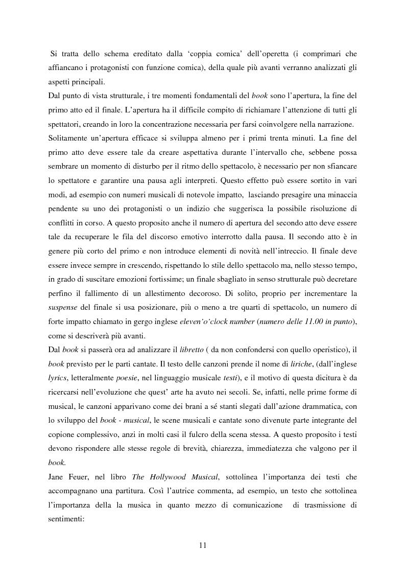 Anteprima della tesi: Forme e strutture del musical: il caso anglo-americano e quello italiano, Pagina 7