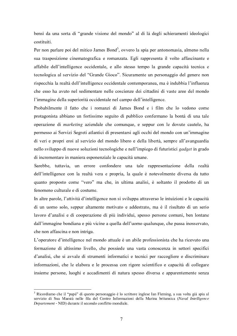 Anteprima della tesi: L'intelligence nel XXI secolo: analisi e prospettive, Pagina 5