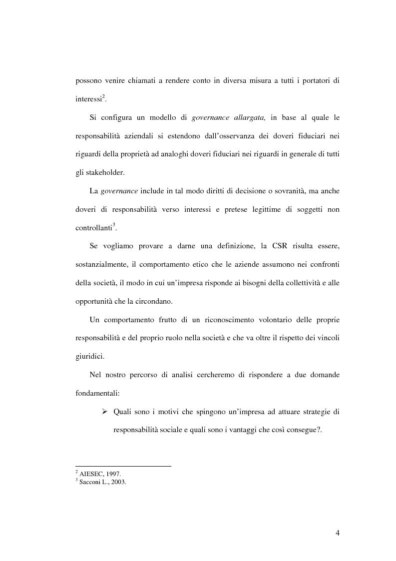 Anteprima della tesi: Etica, strategia e valore. Analisi delle performance aziendali, Pagina 2