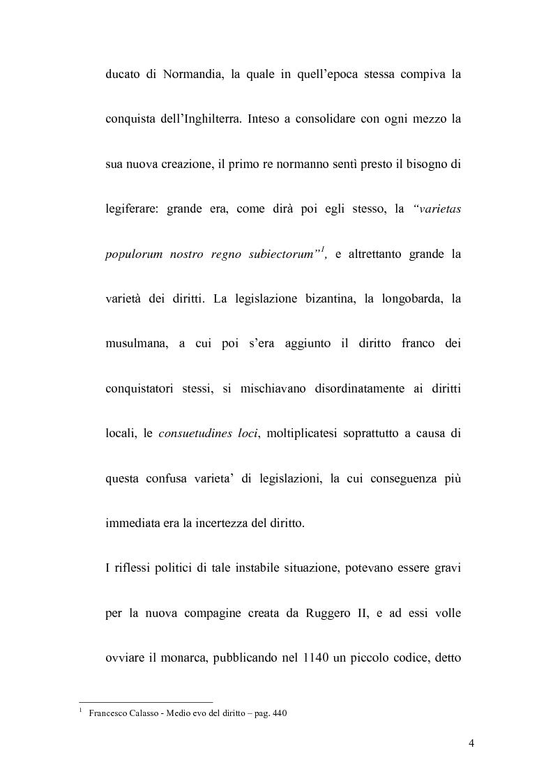 Anteprima della tesi: La politica legislativa di Federico II, Pagina 2