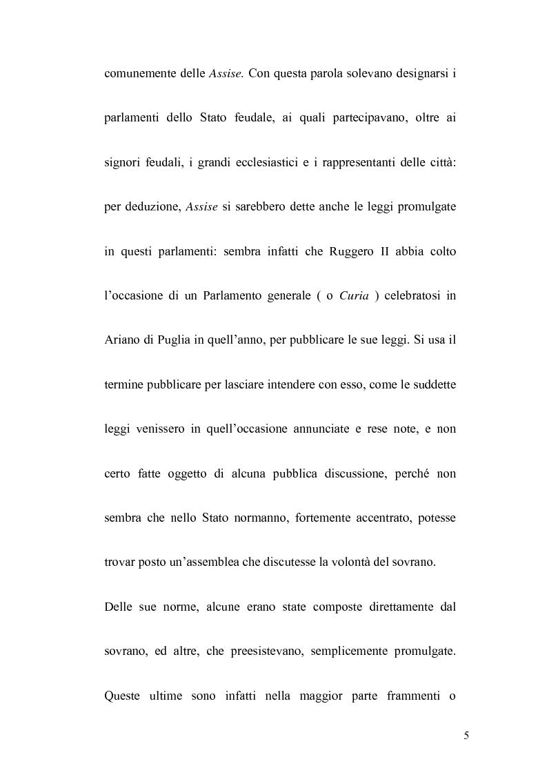Anteprima della tesi: La politica legislativa di Federico II, Pagina 3