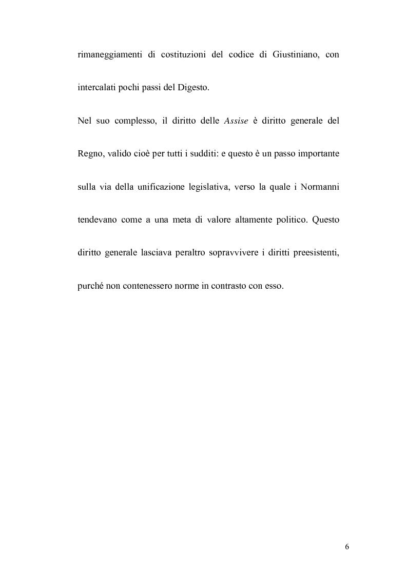 Anteprima della tesi: La politica legislativa di Federico II, Pagina 4
