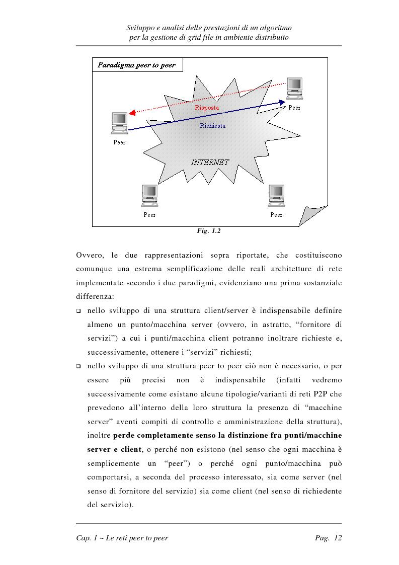 Anteprima della tesi: Sviluppo e analisi delle prestazioni di un algoritmo per la gestione di grid file distribuiti, Pagina 12