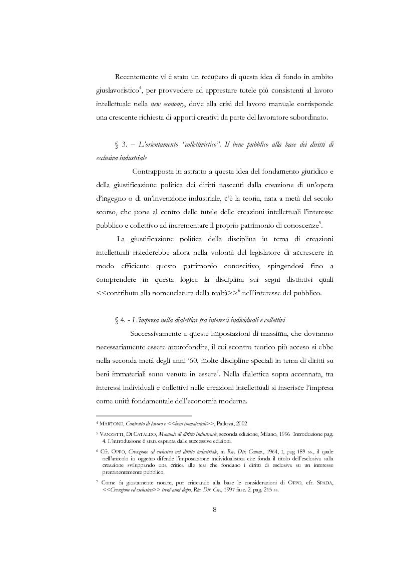 Anteprima della tesi: La nuova disciplina delle invenzioni dei pubblici ricercatori, Pagina 3