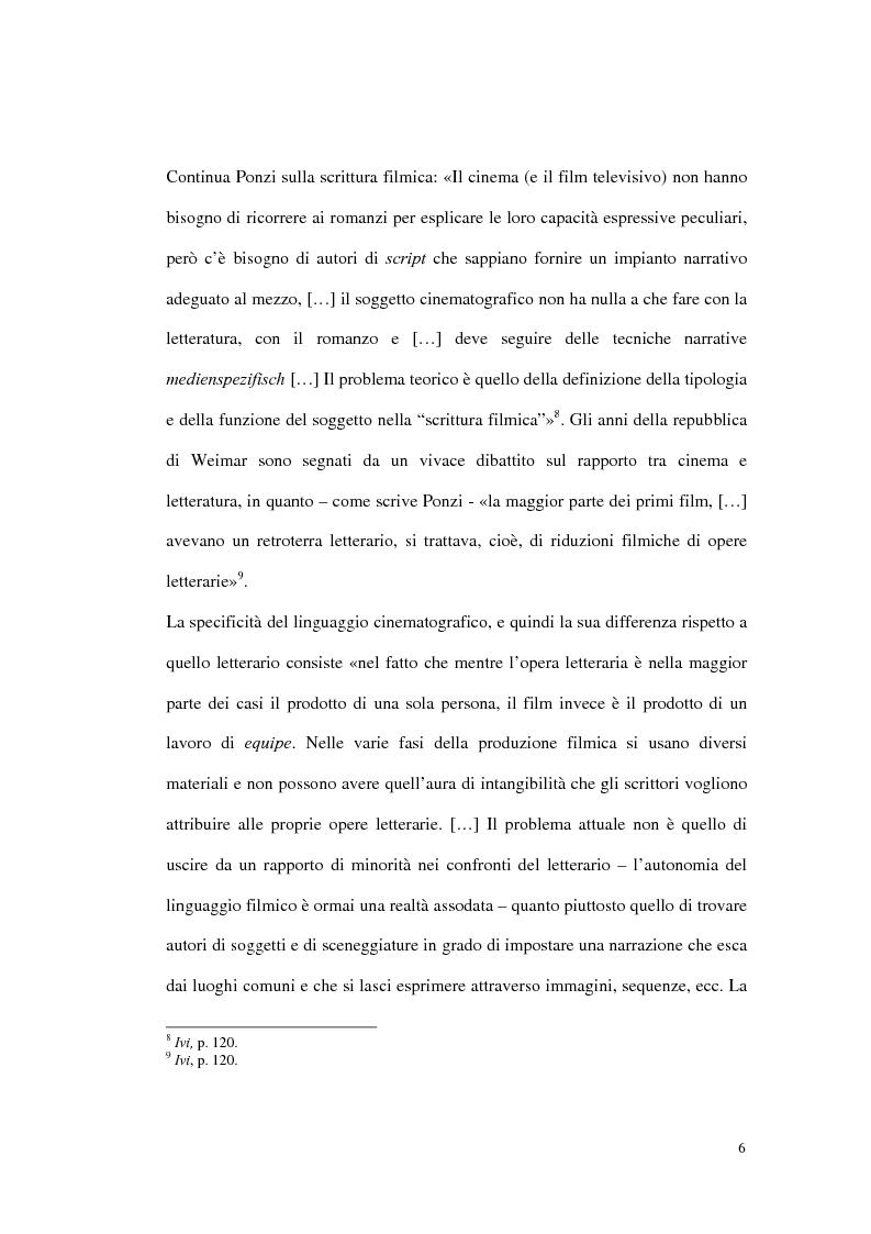 Anteprima della tesi: Figure femminili tra cinema e letteratura nella Repubblica di Weimar, Pagina 4