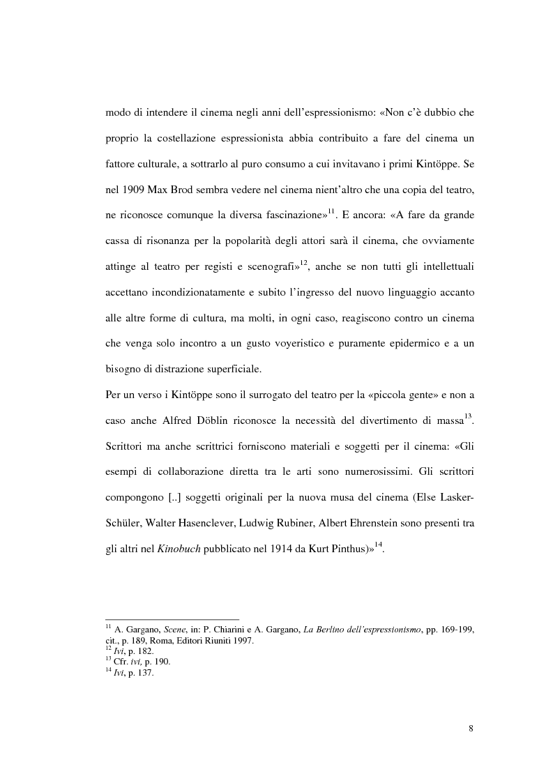 Anteprima della tesi: Figure femminili tra cinema e letteratura nella Repubblica di Weimar, Pagina 6