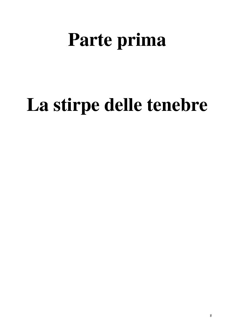 Anteprima della tesi: La figura del vampiro nel teatro tra '800 e '900, Pagina 8