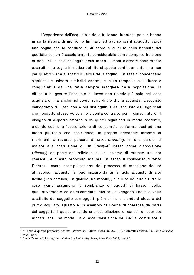 Anteprima della tesi: Gestire la sfida del lusso: il caso Chimento, Pagina 14