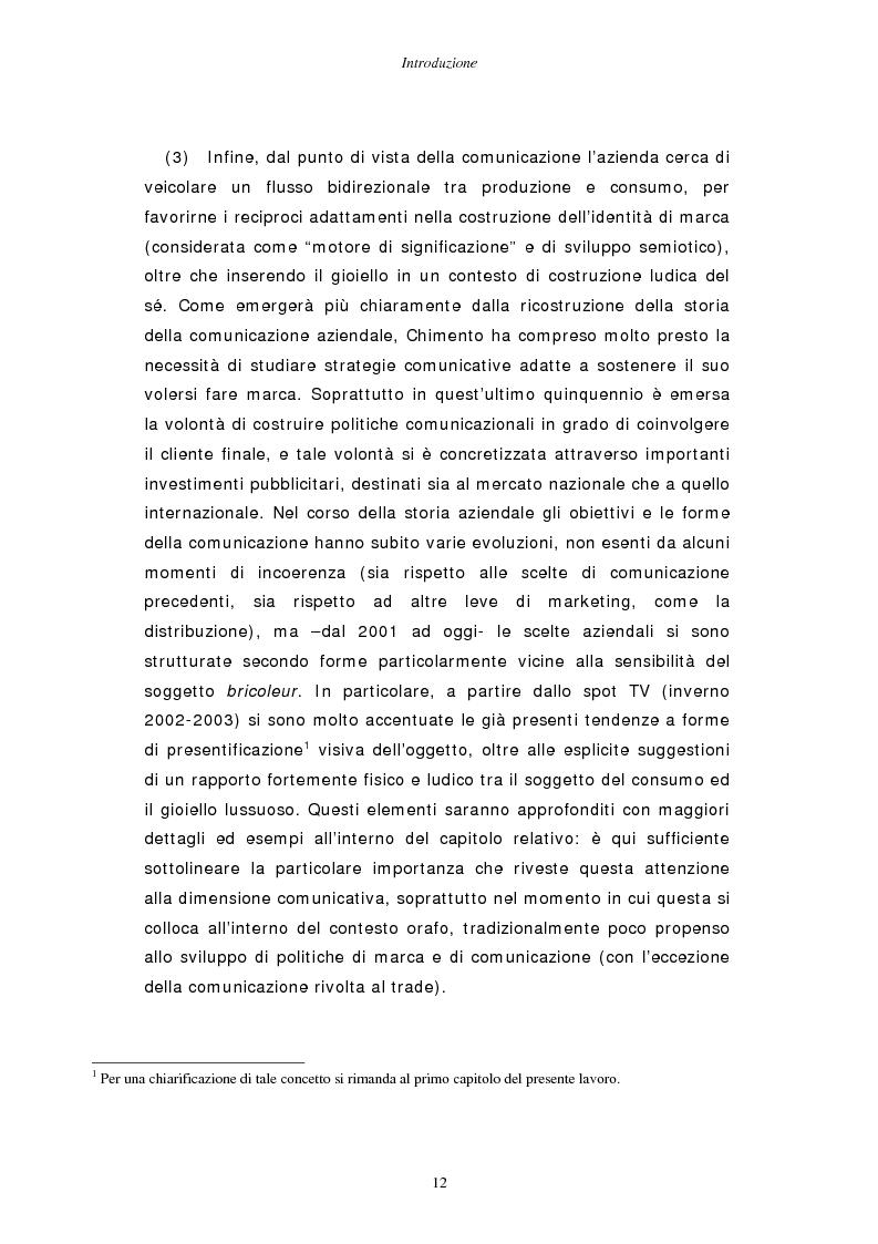 Anteprima della tesi: Gestire la sfida del lusso: il caso Chimento, Pagina 6