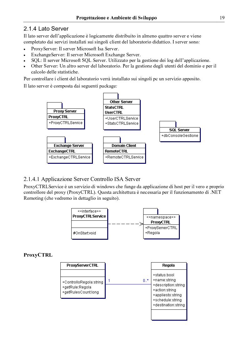 Anteprima della tesi: Un modello per lo sviluppo di strumenti di amministrazione di laboratori didattici universitari, Pagina 10