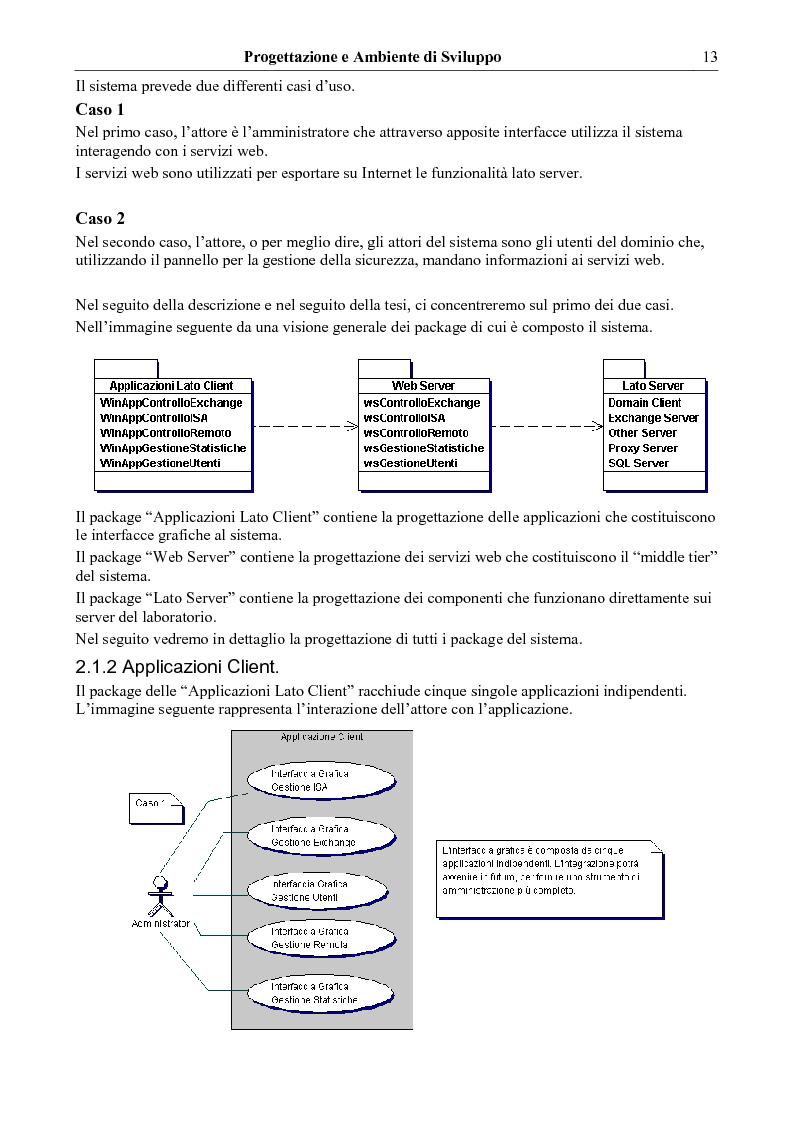 Anteprima della tesi: Un modello per lo sviluppo di strumenti di amministrazione di laboratori didattici universitari, Pagina 4