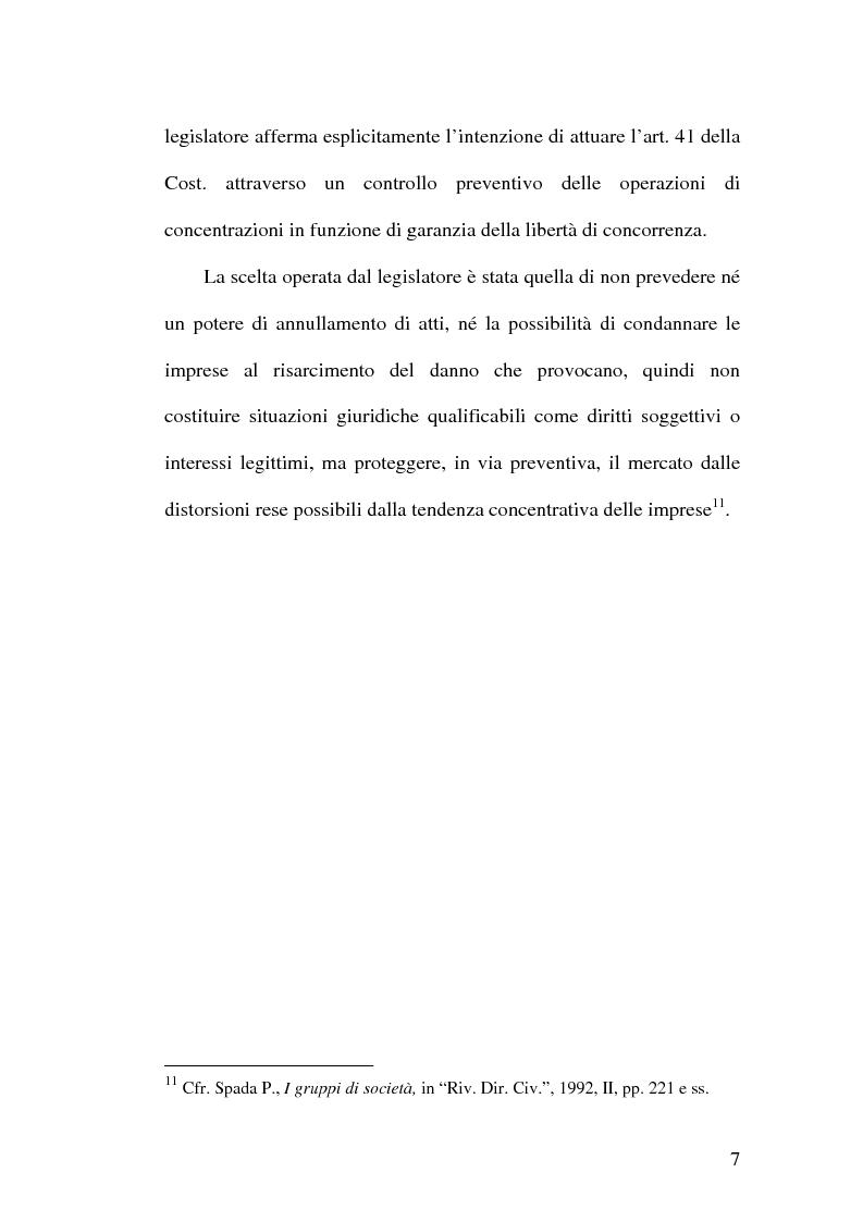 Anteprima della tesi: Controllo e concentrazioni, Pagina 13