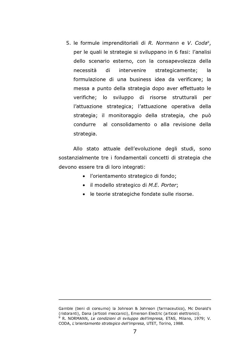 Anteprima della tesi: Il franchising come strategia di crescita esterna volta al mantenimento e allo sviluppo di vantaggi competitivi durevoli. Un caso concreto, Pagina 10