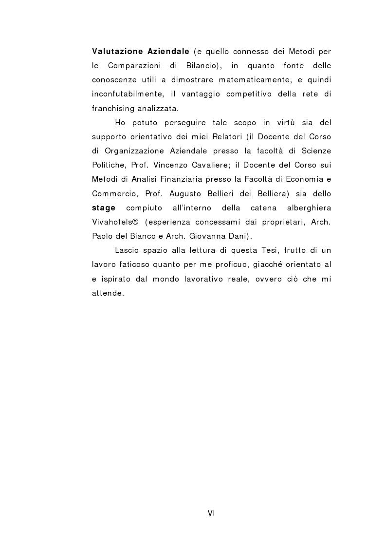 Anteprima della tesi: Il franchising come strategia di crescita esterna volta al mantenimento e allo sviluppo di vantaggi competitivi durevoli. Un caso concreto, Pagina 3