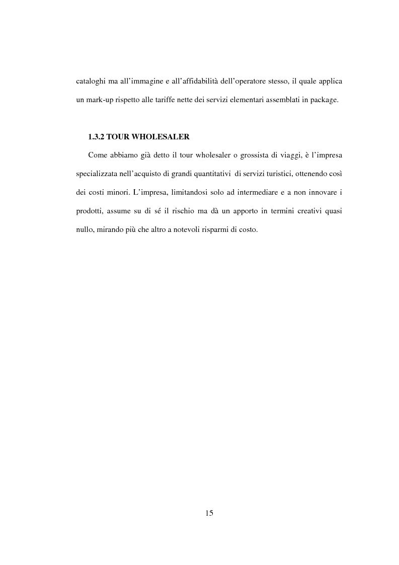 Anteprima della tesi: Sviluppo sostenibile e strategia del valore delle aziende di tour operating, Pagina 12