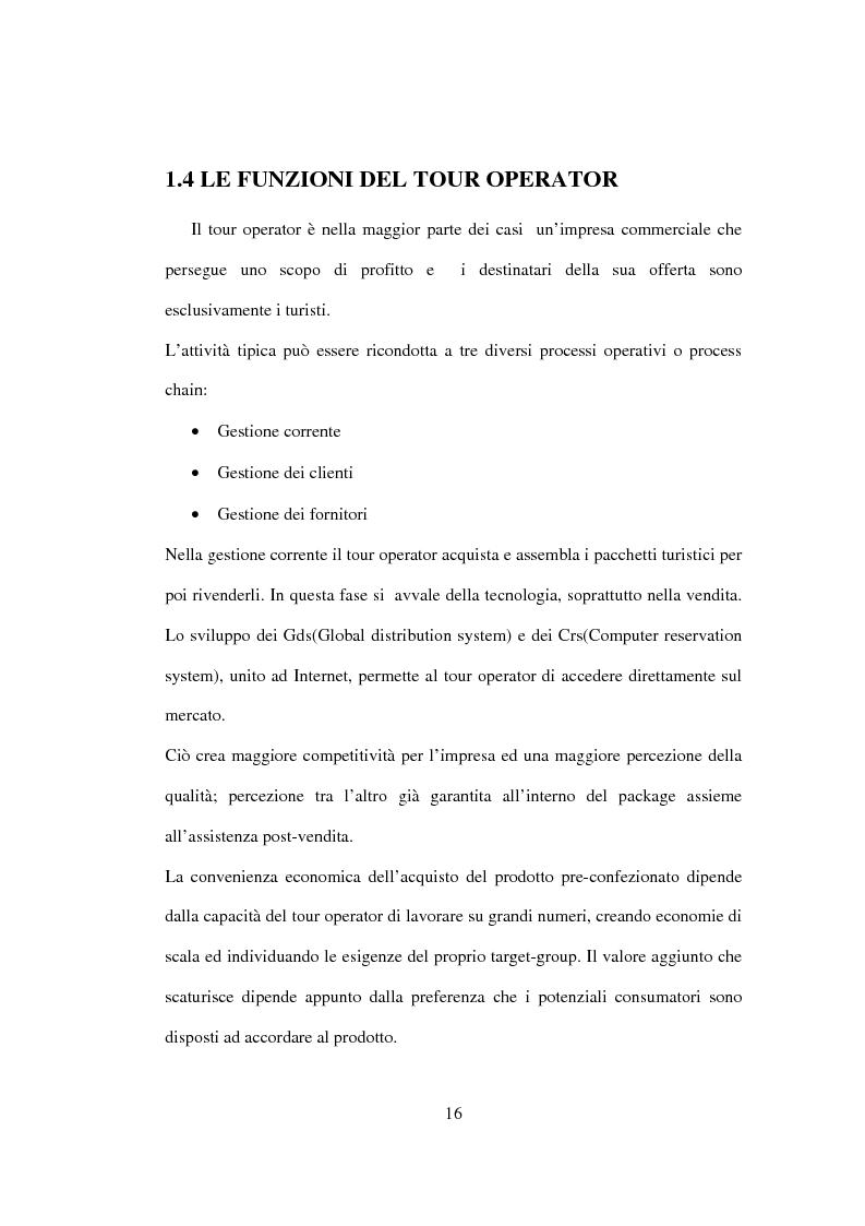 Anteprima della tesi: Sviluppo sostenibile e strategia del valore delle aziende di tour operating, Pagina 13