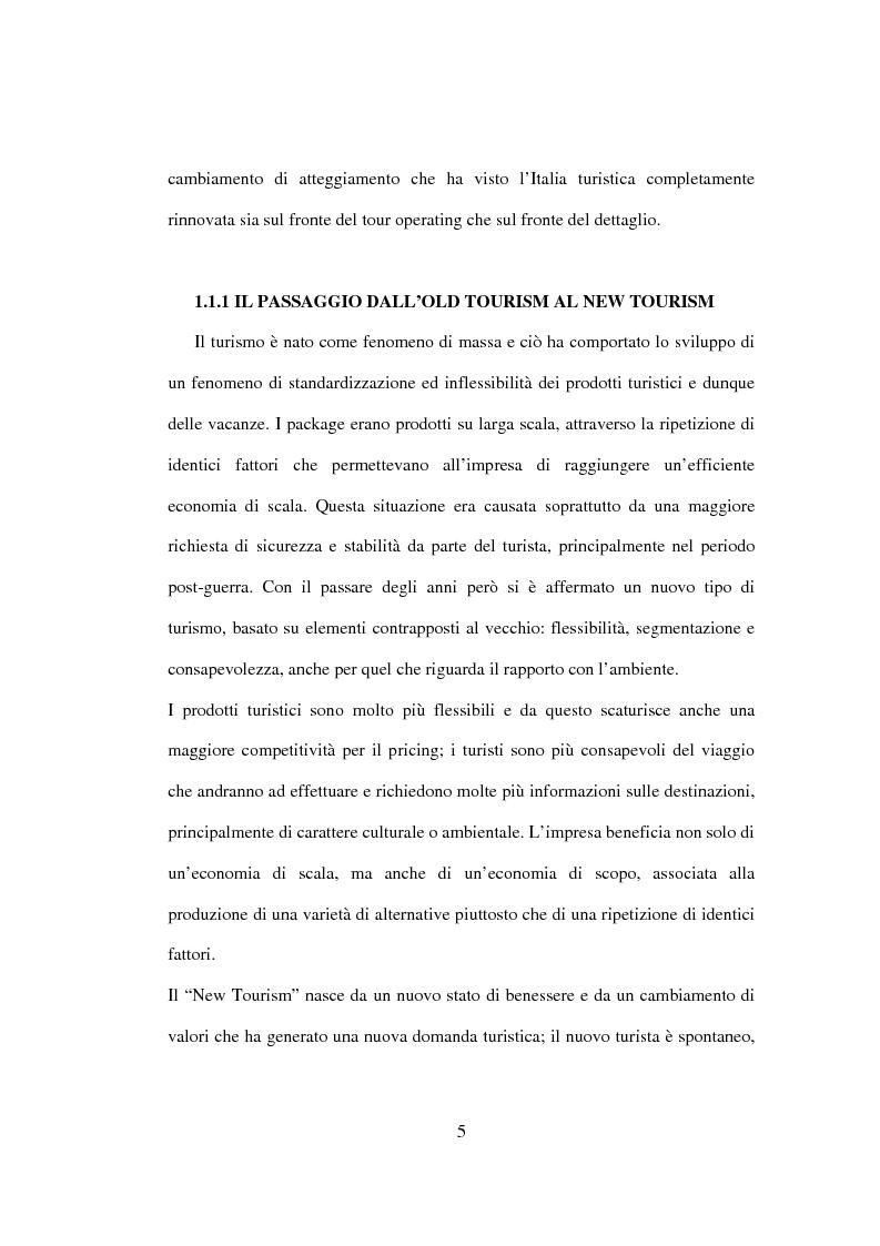 Anteprima della tesi: Sviluppo sostenibile e strategia del valore delle aziende di tour operating, Pagina 2
