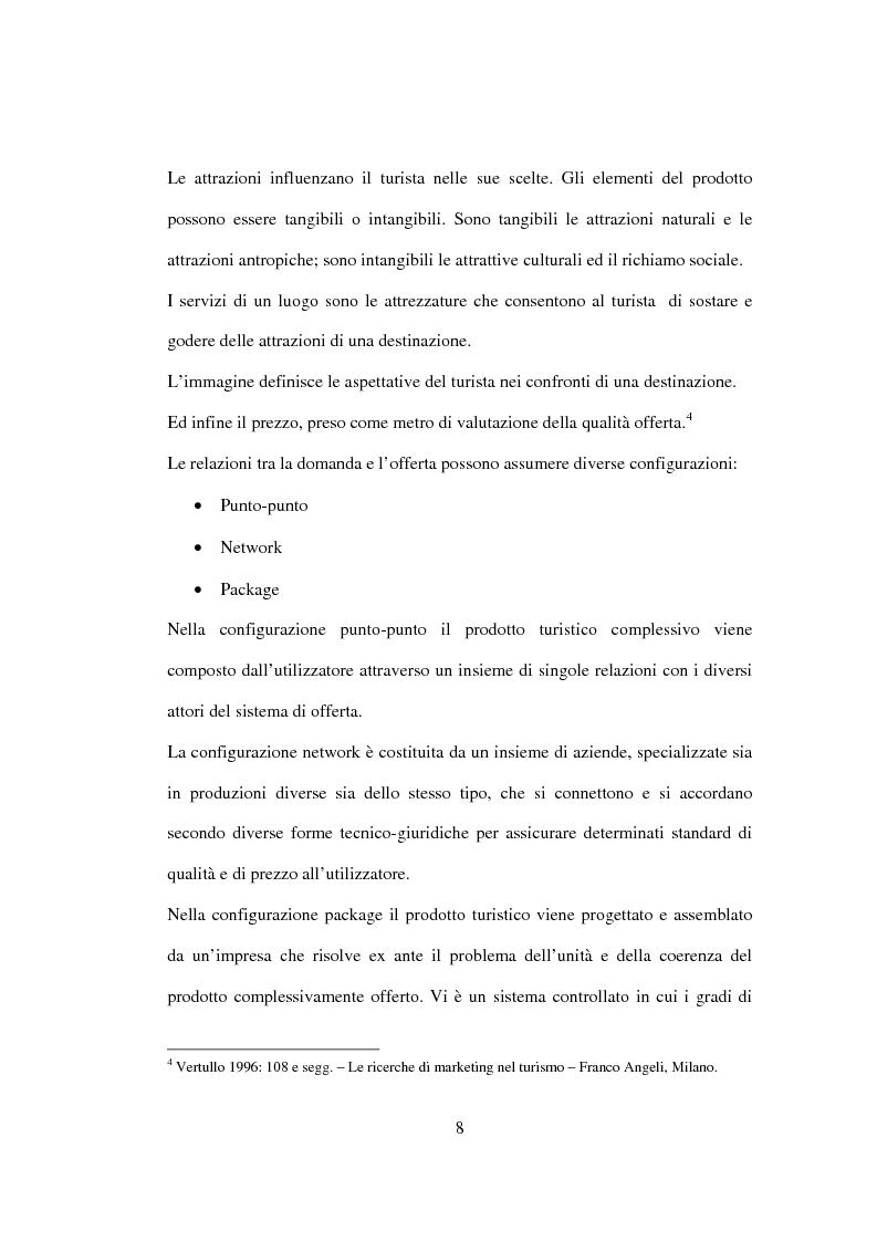 Anteprima della tesi: Sviluppo sostenibile e strategia del valore delle aziende di tour operating, Pagina 5