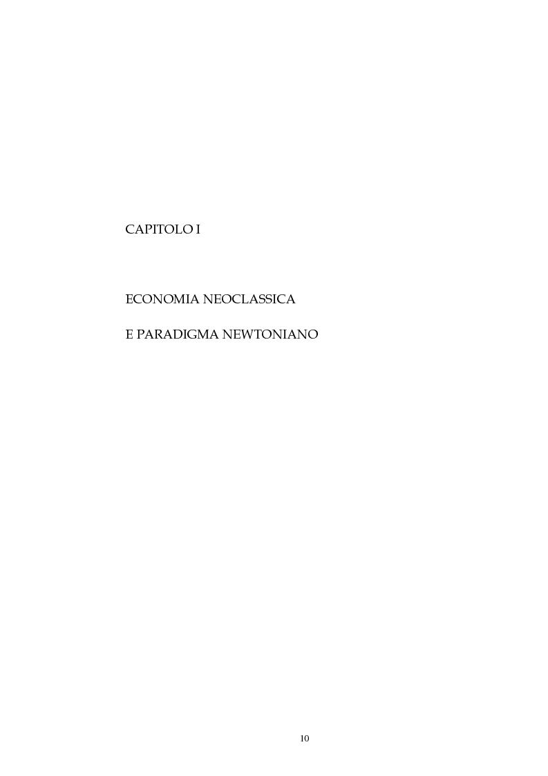 Anteprima della tesi: Kenneth Ewert Boulding e l'analisi economica del XX secolo: evoluzione, ordine, complessità, Pagina 5