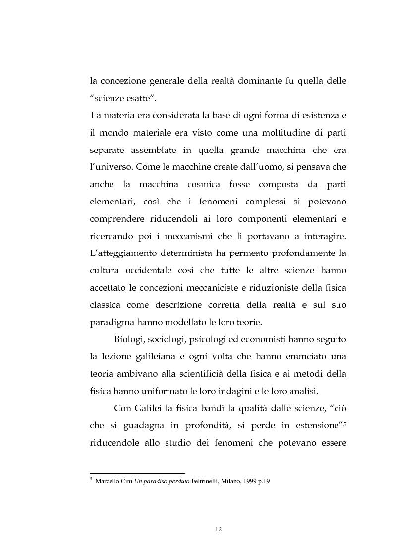 Anteprima della tesi: Kenneth Ewert Boulding e l'analisi economica del XX secolo: evoluzione, ordine, complessità, Pagina 7