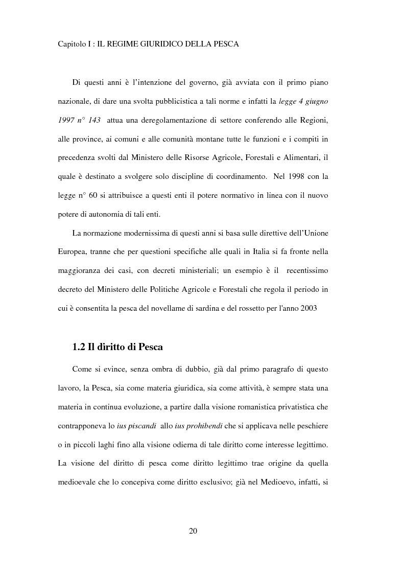 Anteprima della tesi: Il regime giuridico della pesca, Pagina 11