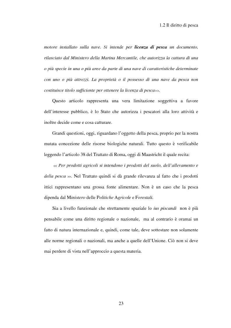 Anteprima della tesi: Il regime giuridico della pesca, Pagina 14
