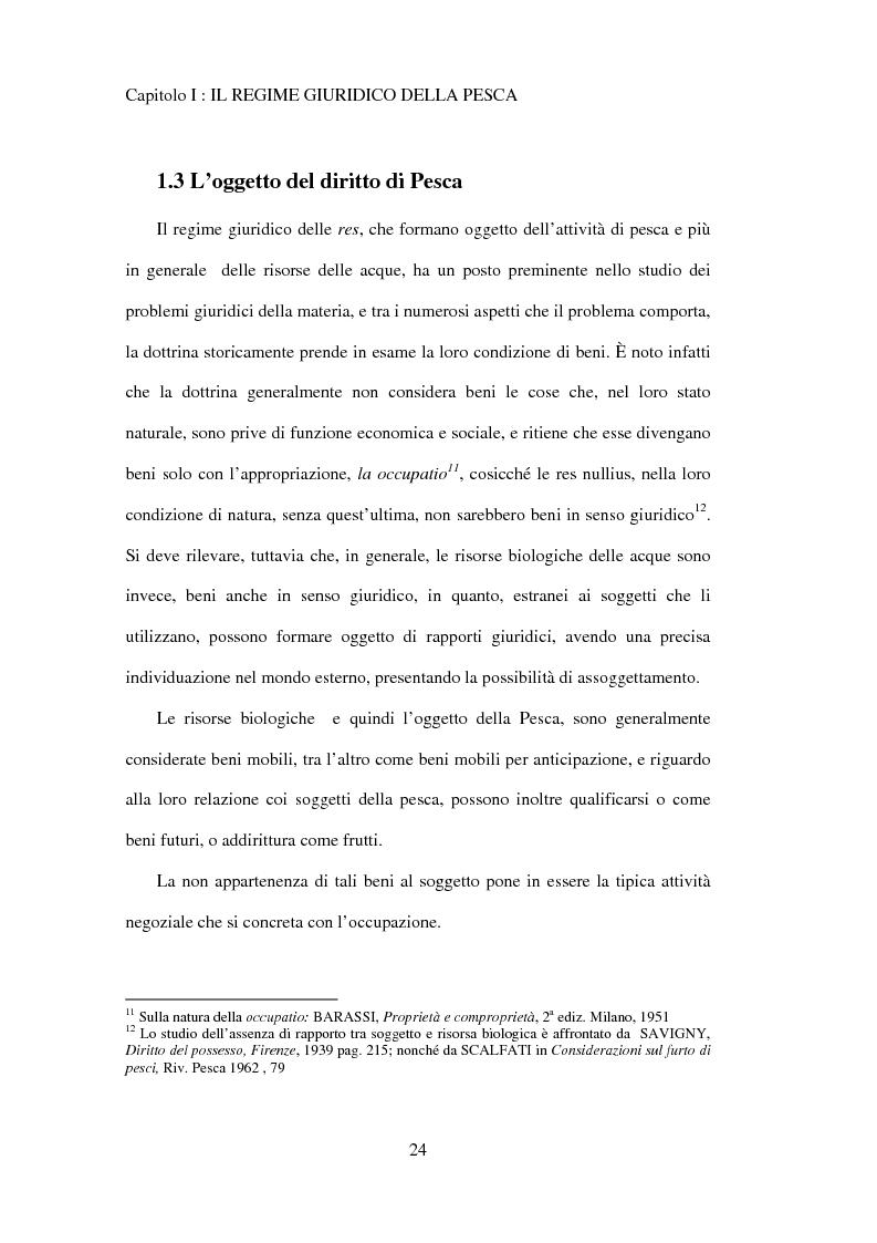 Anteprima della tesi: Il regime giuridico della pesca, Pagina 15
