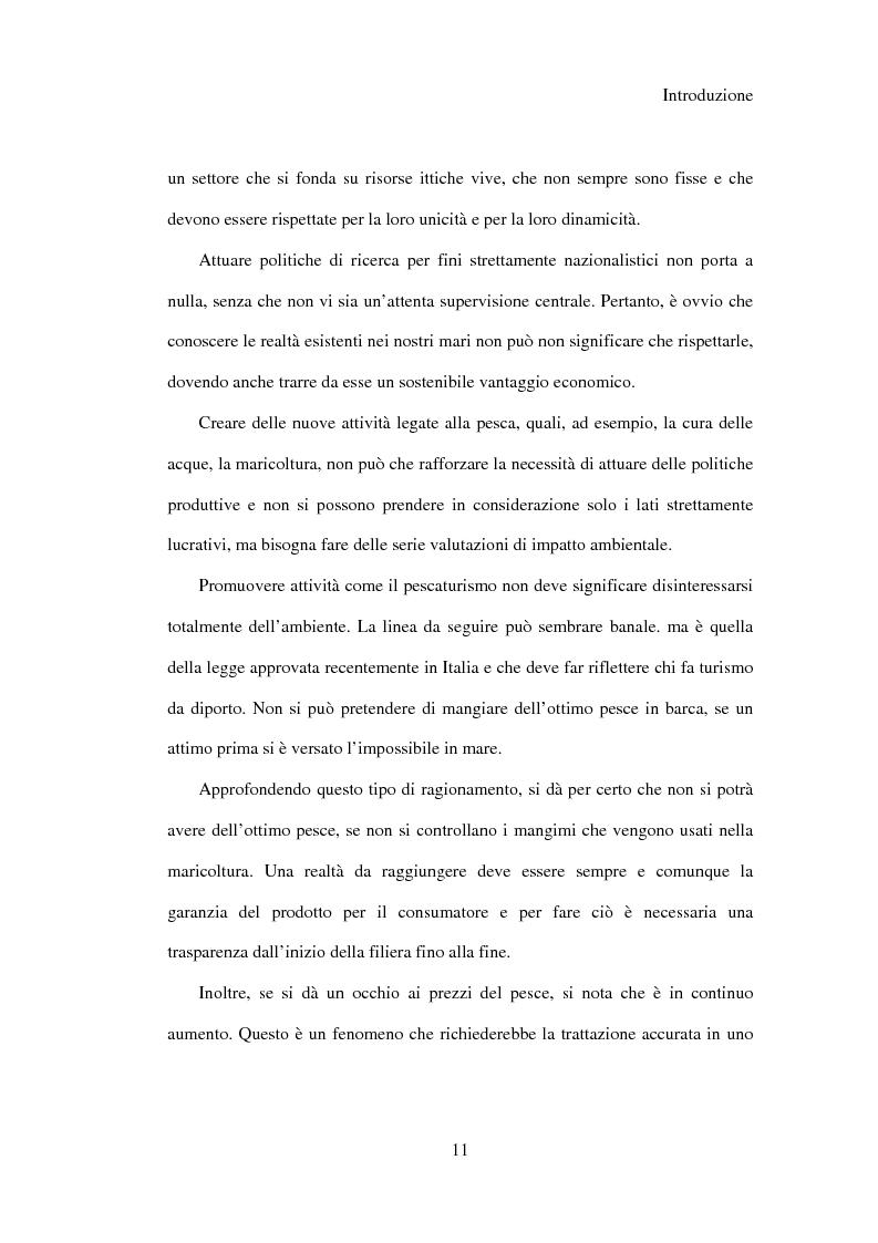 Anteprima della tesi: Il regime giuridico della pesca, Pagina 2