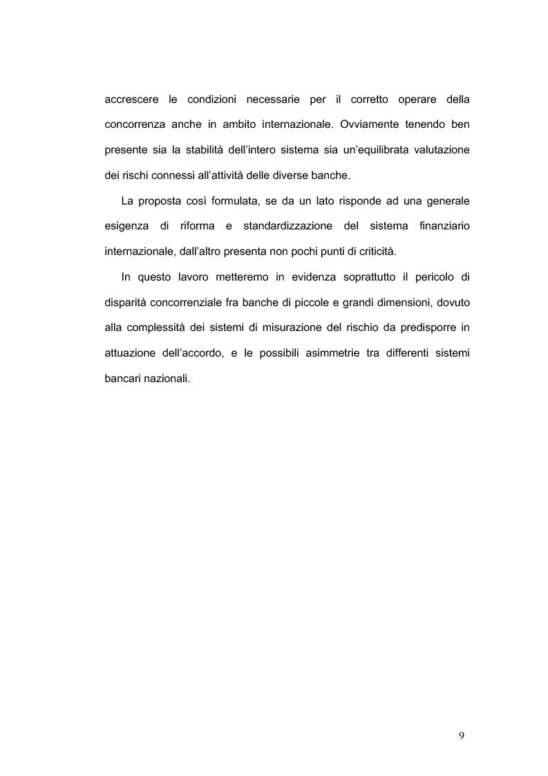 Anteprima della tesi: La concorrenza nel settore bancario, Pagina 6