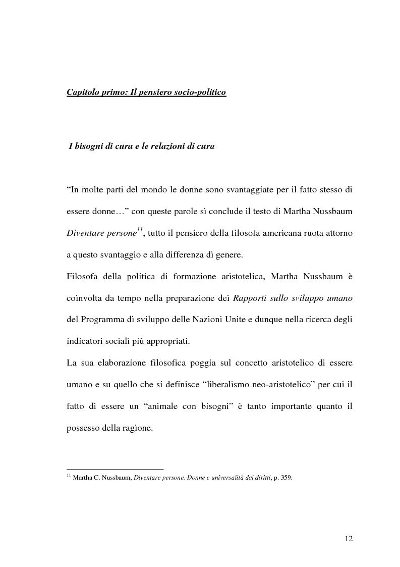 Anteprima della tesi: La prospettiva femminile dei diritti, Pagina 10
