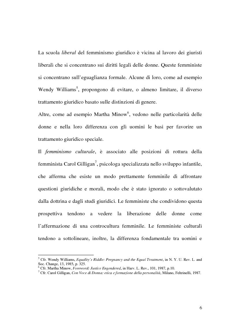 Anteprima della tesi: La prospettiva femminile dei diritti, Pagina 4