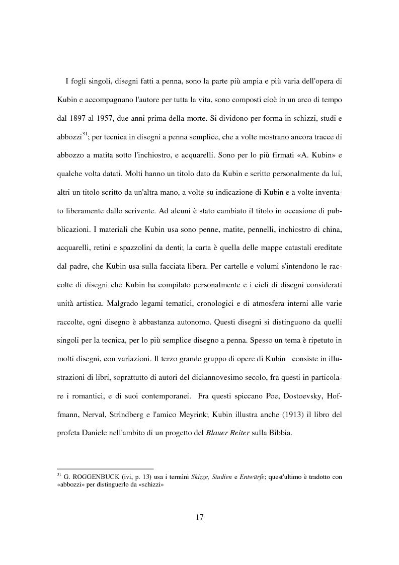 Anteprima della tesi: Utopia e distopia in ''Die andere Seite'' di Alfred Kubin, Pagina 15