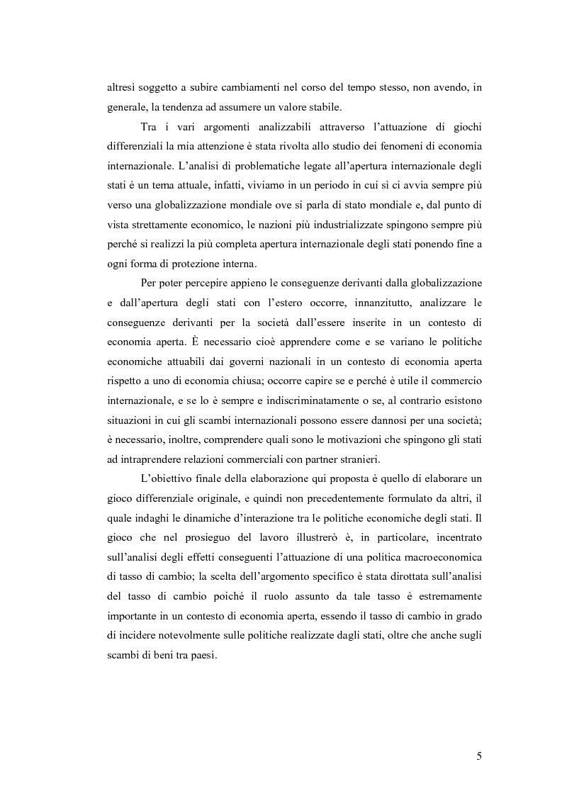 Anteprima della tesi: Giochi differenziali di economia aperta, Pagina 2