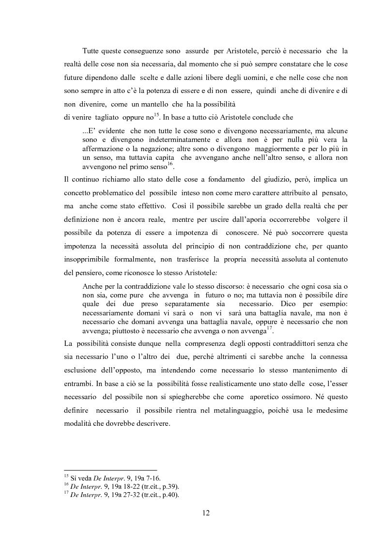 Anteprima della tesi: Il concetto di possibile in Leibniz, Pagina 12