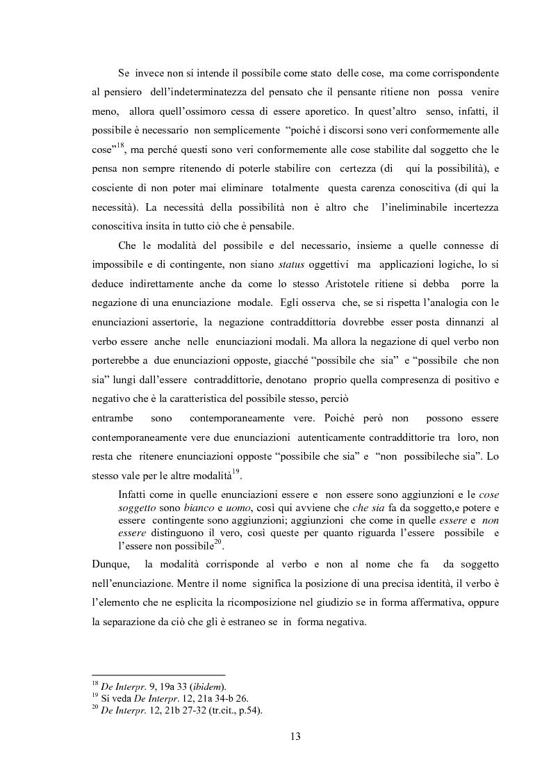 Anteprima della tesi: Il concetto di possibile in Leibniz, Pagina 13