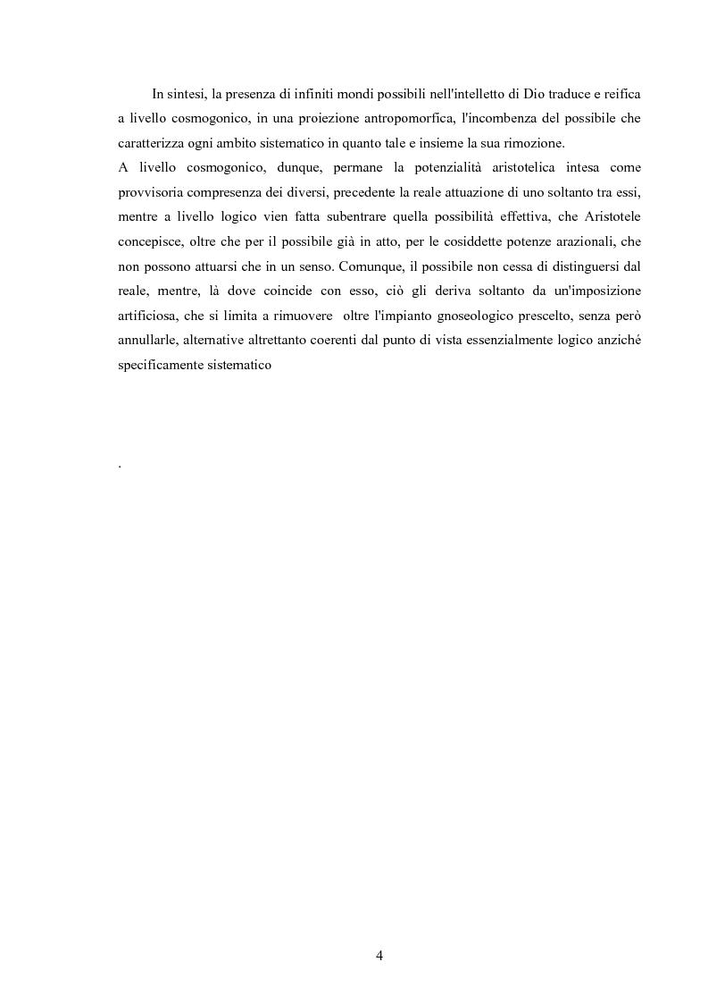 Anteprima della tesi: Il concetto di possibile in Leibniz, Pagina 4