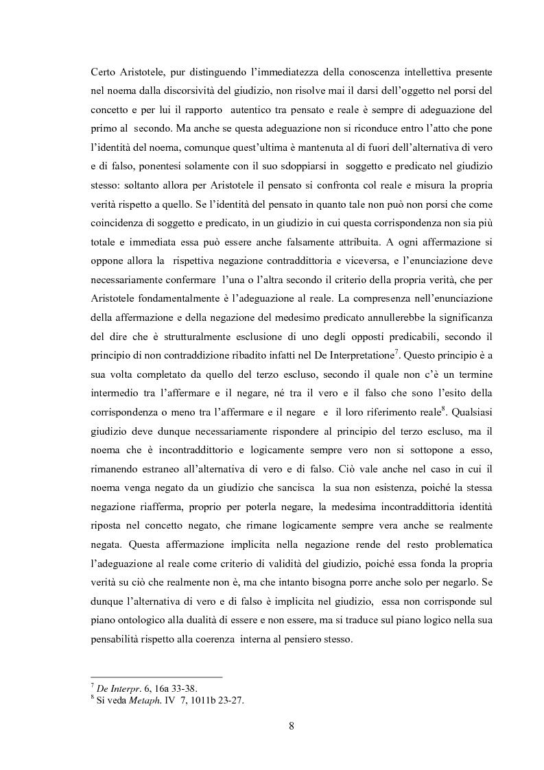 Anteprima della tesi: Il concetto di possibile in Leibniz, Pagina 8