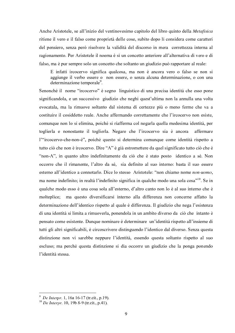 Anteprima della tesi: Il concetto di possibile in Leibniz, Pagina 9